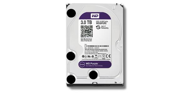 WD Purple - 3 TB