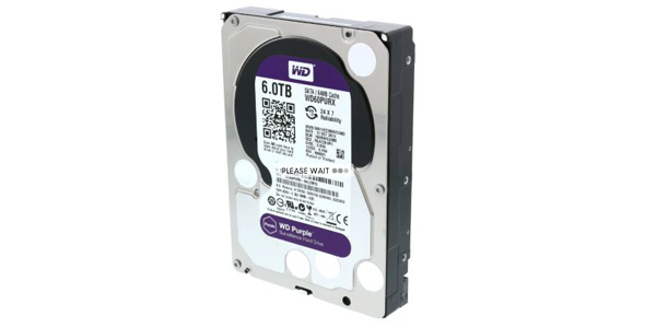 WD Purple - 6 TB