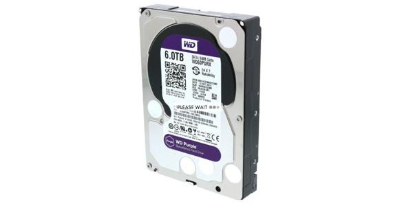 WD Purple - 6 TB