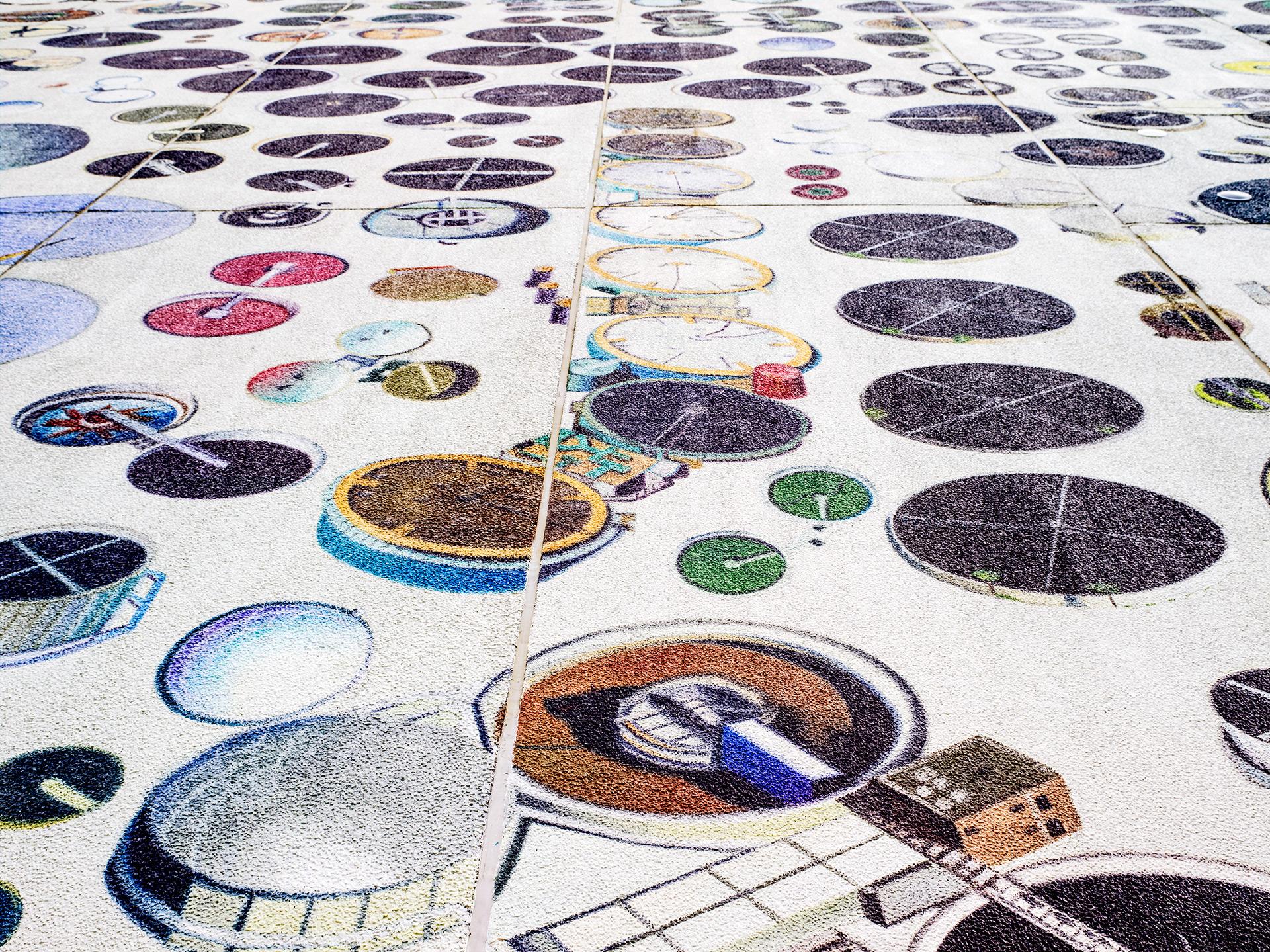 Murals On Google's Mayes County Data Center, Oklahoma