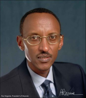Fig 1 Official portrait, President Kagame 2008
