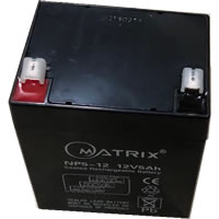 12V/5AH Sealed VRLA  Backup  battery