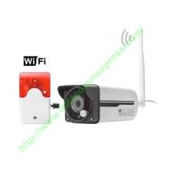 4mm HD PIR Wireless IP Camera with Siren(A1-611)