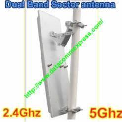19dbi Tripple Chain dual band 2.4ghz/5ghz 90deg Sector Antenna