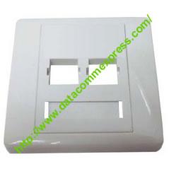2 Port Fiber Optic Faceplate-SC