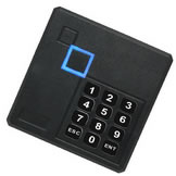 External Security Door RFID 125KHz Card Reader Waterproof Wiegand 26 With keypad