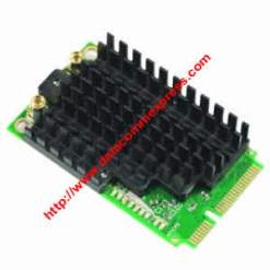 MIKROTIK R11e-5HnD with 5Ghz miniPCI-express, 802.11a/n dual chain, 500mW, 2x MMCX