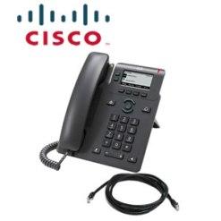 Cisco 2-Line IP Phone 6821-3PCC-K9  with Multiplatform phone firmware