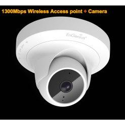 Engenius 2-in-1 Mesh 11ac wireless access point and IP surveillance camera AP MeshCamÃ(EWS1025CAM)