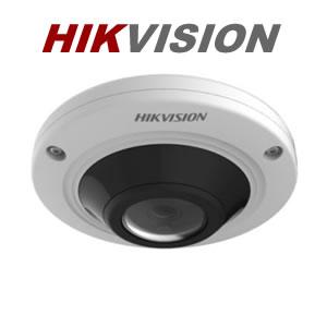Hikvision DS-2CC52C7T-VPIR 1MP  Turbo HD Vandalproof Fisheye Camera with Audio
