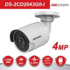 Hikvision DS-2CD2043G0-I 4MP Face Detection H.265+WDR IP Bullet Camera