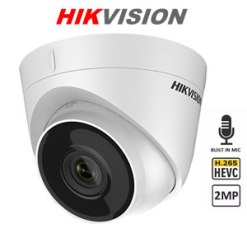 HIKVISION DS-2CD1323GO-IU 2MP IR Network Turret Camera With Audio Built In Mic