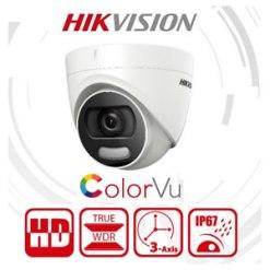 Hikvision DS-2CE72DFT-F 2MP ColorVu Full Time 24/7 ColorVu Turret Camera