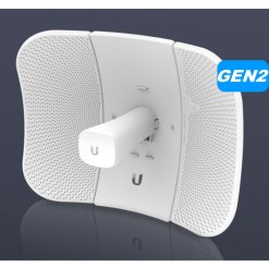 Ubiquiti LBE-5AC-Gen2  LiteBeam 5ac Gen2 5GHz 23dBi CPE with mobile phone monitoring/Management