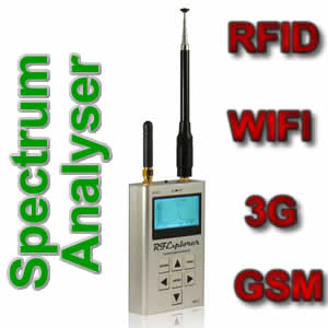 RF Explorer Handheld Spectrum Analyser 3G Combo