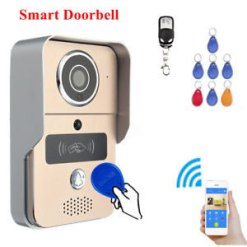Smart Home 720P TCP/IP WiFi Video Doorbell Support Wireless Unlock IOS Android APP Control