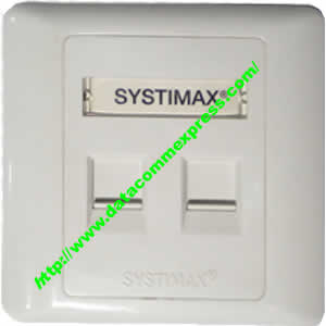 Systimax Faceplate -2Ports