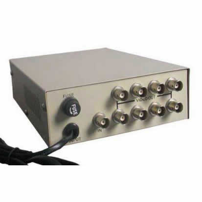 1-Ch Input 8 Channel Video Output  Distributor