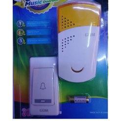 Smart Wireless Doorbell 36 Chords LED Door Bell AC 220-250V Receiver + 2pcs 12V 23A Transmitters 120