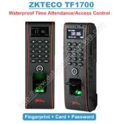 Zkteco Waterproof  Biometric Time Attendance and access control (TF1700)