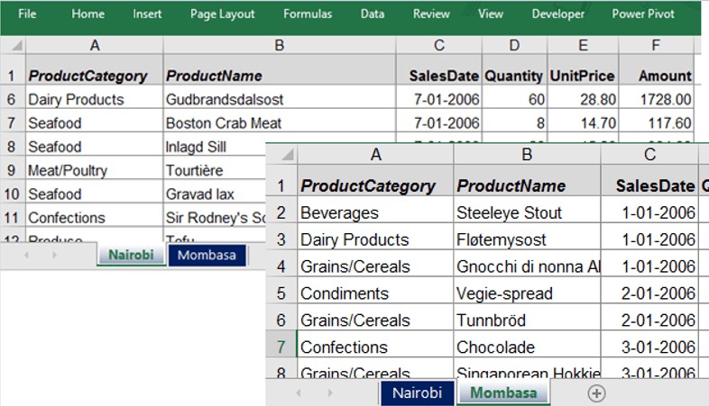 How to Combine Data from Multiple Worksheets into One Master – Power to a Power Worksheet