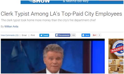 City Of Los Angeles Jobs Clerk Typist