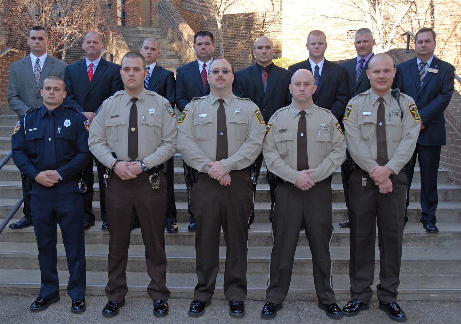 Vgcc Graduates 12 Law Enforcement Cadets In Schools 93rd Blet Class