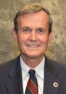 Danny W. Wright of Henderson was elected chair of the Vance-Granville Community College Board of Trustees on Monday, July 18. He succeeds Deborah Brown, who has chaired the board for the past four years. (VGCC photo)
