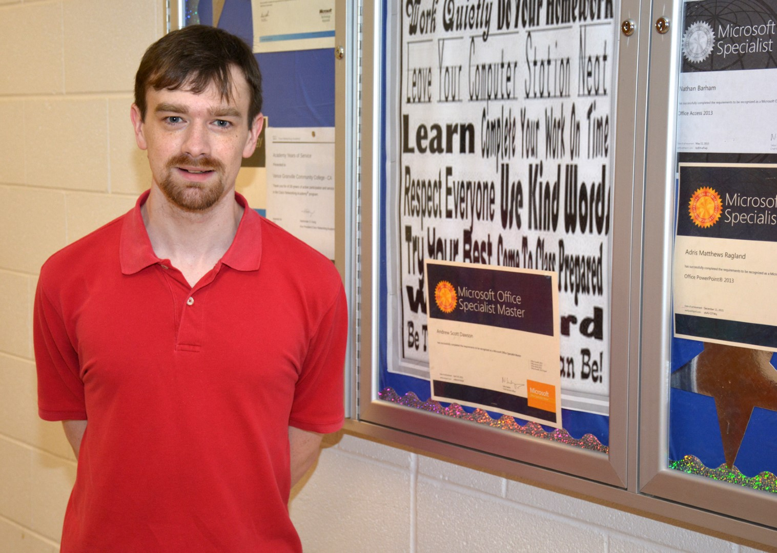 Vgcc Student Recognized As A Microsoft Office Master Home In