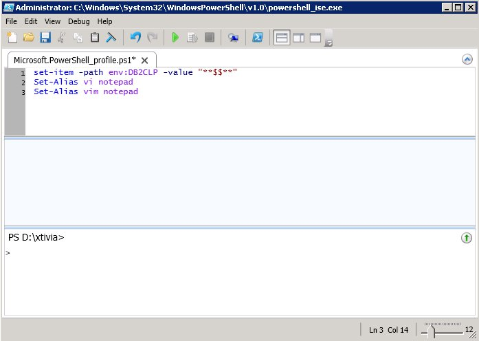Introduction to Using the PowerShell Command Line with DB2