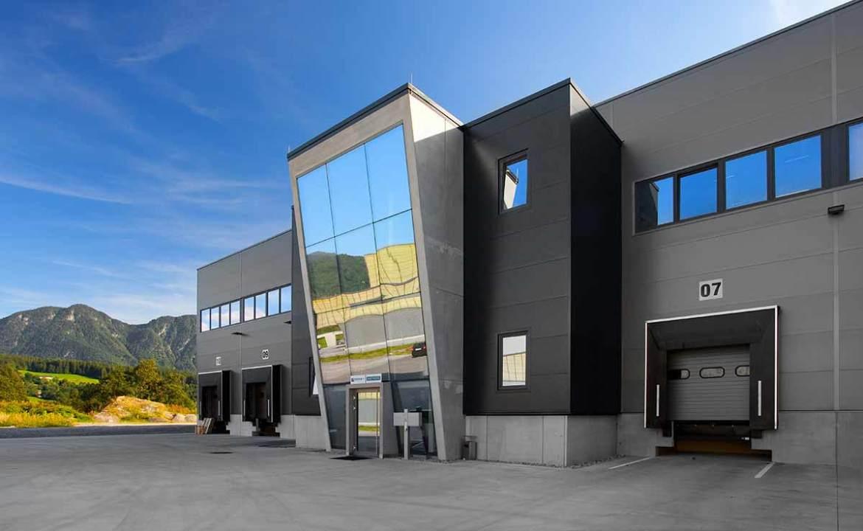 Architektur Logistikpark Langkampfen