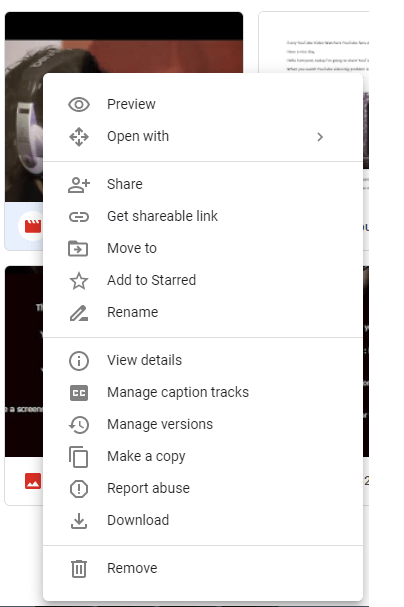 Google Drive Right click video file.png