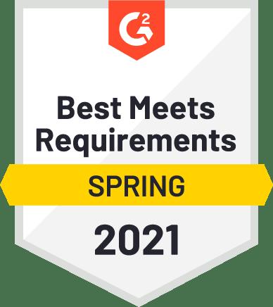 G2 Best Meets Requirements