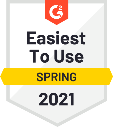 G2 Easiest to Use