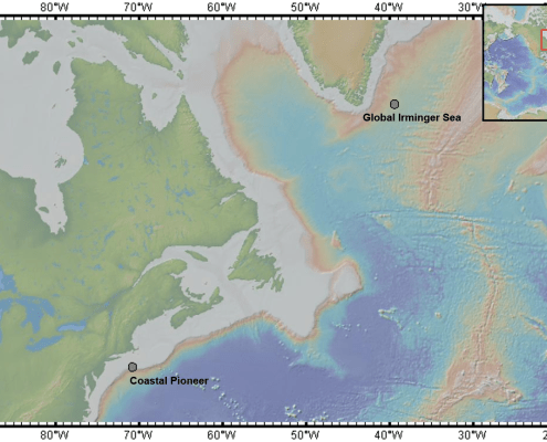 Coastal Pioneer and Global Irminger Sea Arrays