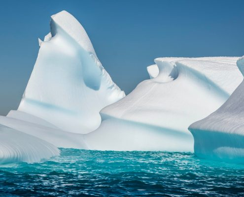 Wave-carved Iceberg, Western Antarctic Peninsula