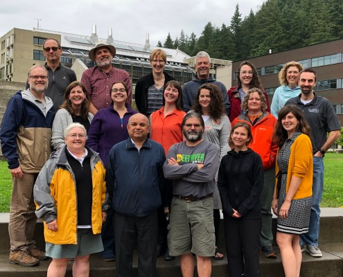Attendees at our 2019 workshop in Bellingham, WA.