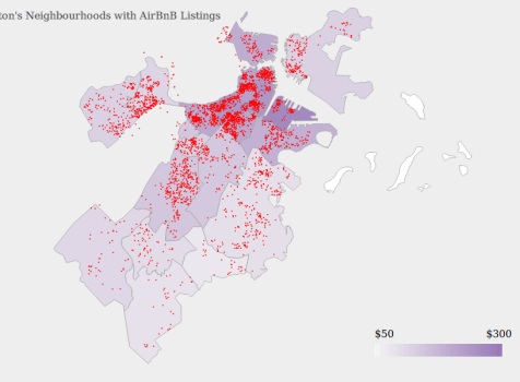 AirBnB Visualization