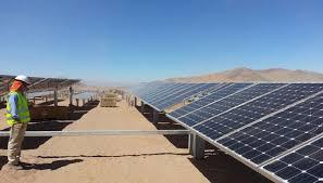 Resultado de imagen para Avanzan las obras del parque solar de Antofagasta