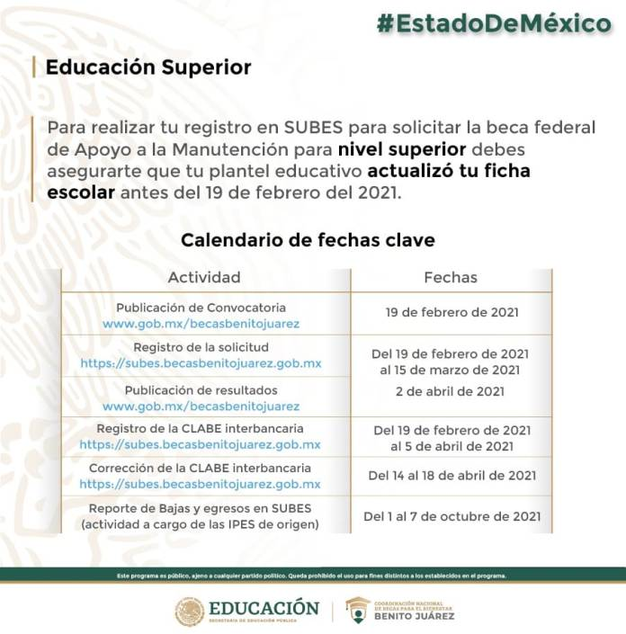Oficinas Becas Benito Juárez Edomex 3