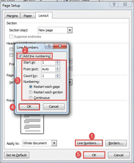 Add Line Numbers In Word : numbers, Handy, Numbers, Their, Formatting, Document, Recovery