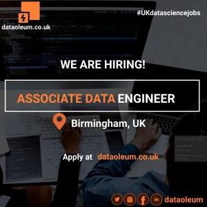 Associate Data Engineer in Birmingham