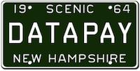 Datapay NH License Plate