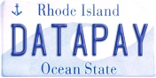 Datapay RI License Plate