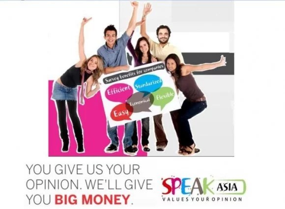 Speak Asia Online Scam
