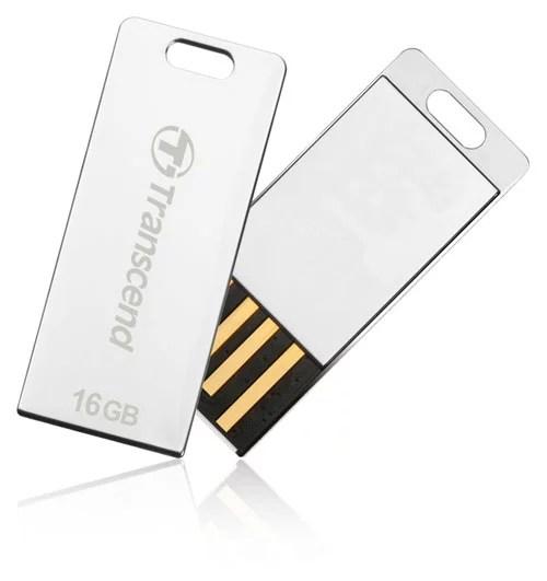 Transcend Unveils JetFlash T3S Rugged Ultra-slim USB Flash Drive