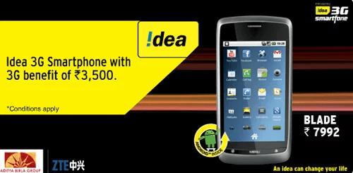 Idea 3G Smartphone Blade