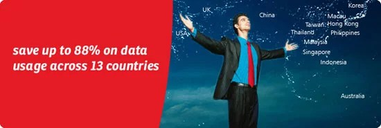 Save 80% on international data with Airtel data roaming pack