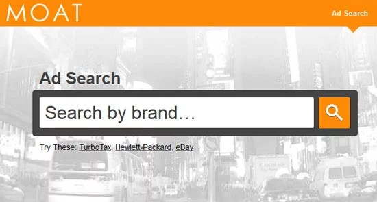 Moat - Search Engine for Display Advertisements
