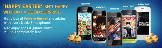 Nokia India Offering Premium Apps and Games Worth Rs 3850 With Selected Smartphones